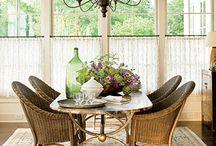 Dining room / by Billie @Printables4Mom