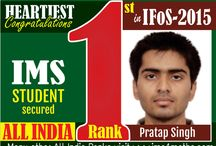 Indian Forest Service Examination Result 2015 / by Ims New Delhi
