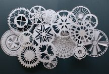 Crafts-Snowflakes (paper) / by Terri Lee