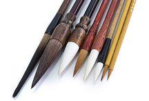 Chinese bamboo brushes