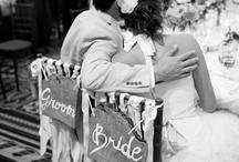 Wedding Bride & Groom Signs