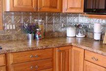 Kitchen counter & backsplash ideas