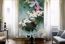 Papier peint Tapisserie asiatique - Les orchidée