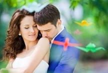 Wedding with origami (Свадьба с оригами) / #Свадебная #фотосъемка с #оригами в Киеве