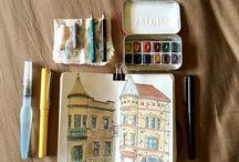 Crafting - Travel sketch kit