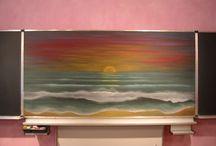 Waldorf paintings and drawings