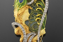 Art Nouveau Jewelry / Jewelry from the Art Nouveau Period. / by Betty Smith
