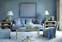 Perfect in Pastel / Pastel furniture and decor is an easy way to soften and brighten a space. From soft sage, to sunny yellows, muted blues and lush lavenders—there's no better way to revive a room! Enrich your space with the hues of spring with this charming and refreshing look