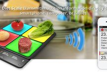 Smart Diet Scale - Amazing Nutrition Info / Smart Diet Scale: Transmits nutrition information directly to your smart phone, computer, or tablet - http://SmartDietScale.com/