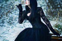inspiration - gothic photoshoot