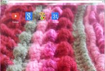Google Chrome Themes / Various #Crochet themed themes I have created for your Google Chrome browser in the Chrome Store