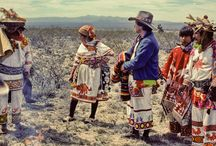 Huichol Culture / Documentation of a pre-columbian tribe in Mexico.