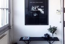 Paintings and posters