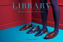 Winter 2015 Library / Nothing's black and white this winter; intrigue, decadence and bold hues abound with 'Library' Winter 2015 collection. Crafted by hand in top-grain Italian leather, for unmistakable quality and finish.