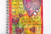Art Journaling Love: Stars and Hearts / by Crafty Lou