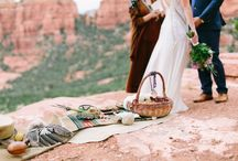 Marsala + Turquoise Desert Shoot / by Marina Tolentino