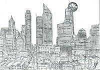 Antistress coloring - New York