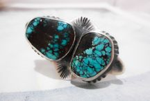 Turquoise Jewelry by Tarnished & True / Handmade silver and turquoise jewelry.