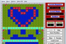 The Game at the Heart / Graphics from the LaserTank Game containing Heart.