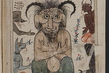 Art - Medieval Illustrations and Illuminations / All sorts of bizzare drawings and paintings from old manuscripts