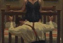 """Vettriano """"Love, devotion and surrender"""""""