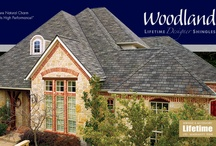 Woodland / Value Collection Designer Shingles - The stylish look of hand-cut European shingles—at an incredibly affordable price. / by GAF - Roofing