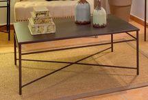 Muebles de metal / Selección de muebles de metal que mezcla la elegancia clásica con el estilo industrial, adaptandose a las tendencias más actuales.