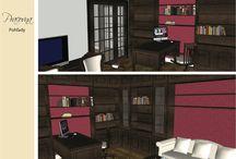 Interiér 4- izbového bytu na Zochovej ulici / bytový dizajn
