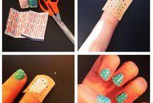 Ногти.
