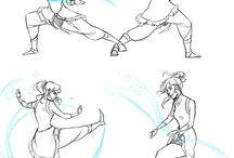 legend of korra fight pose