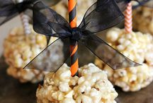 Popcorn / Interesting ways to display and serve Popcorn
