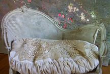 Designs that I Love / Anything Shabby Chic white pink green chipped, rusted,  / by Finders Keepers Nevada NV