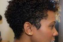 Black women short natural hairstyles