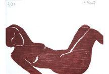 Obra Gráfica - Fernando Puente / Obra gráfica original, grabados