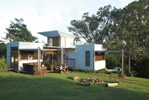 cool homes / by Allie Brannon