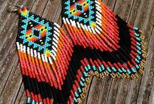 biżutki - kolczyki peru