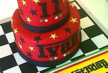 F1 cakes