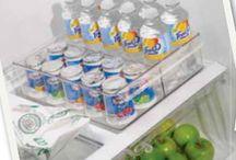 Fridge and Freezer Organizing Ideas