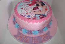 Violetta cake dla Weroniki