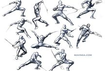 Fighting & Battle Poses