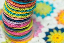 learning to crochet / by Emily Jones