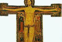 MEDIOEVO: PALE E CROCIFISSI / Pittura medievale su legno