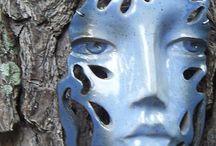 keramika masky