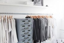 Simple clothing racks