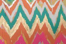 Farebne napady textury