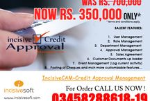 IncisiveCAM-Credit Approval Management Software / Salient Features: 1. User Management 2. Role Management 3. Department Management  4. Approval Management 5. Sales Agreement 6. Customer Documents up loader 7. Event Management (Log current activity) 8. Posting of Cheques and mch more customizable features…