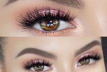 makeup ojos noche