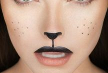 Halloween, Karneval, Kinderschminken