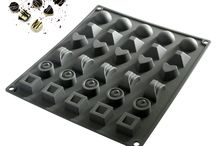 Makimy 30-Cavity Premium Silicone Chocolate, Candy and Jelly Mold / The Best Candy Molds That Produce Sweet Candy Perfection!  Produce a wide variety of elegant and fun shapes with this premium Silicone 30-Cavity Candy Mold with ease and say goodbye to the candy-making mess once and for all..