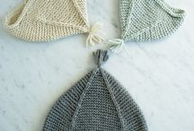 Knitting hats / Knitted hats
